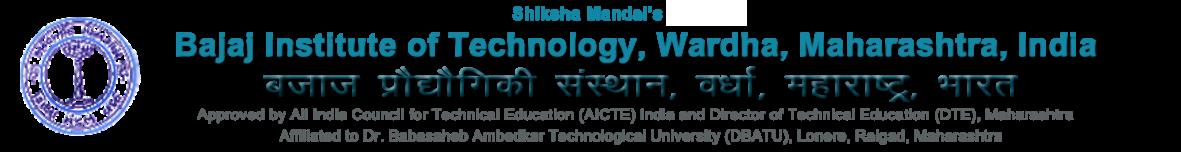 Bajaj Institute of Technology Wardha