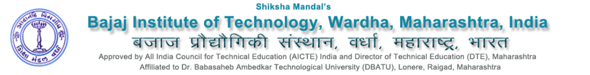 Bajaj Institute of Technology Wardha